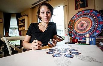 Sabrın sanatı 'tezhip mandala'yı Türkiye'ye tanıtıyor