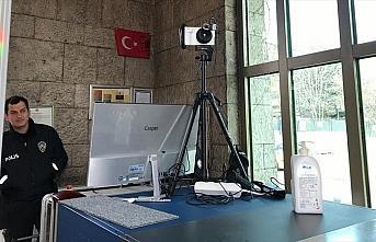 TBMM'de koronavirüse karşı termal kamera uygulamasına...