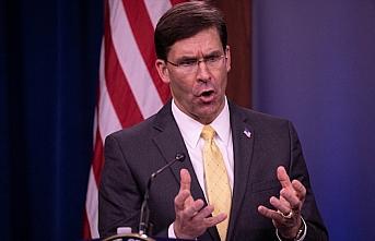 ABD Savunma Bakanı Esper: Çin'in Kovid-19'la ilgili gerçekleri saklamasına göz yumamayız