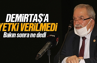 Belediye meclisi, Necattin Demirtaş'a yetki vermedi