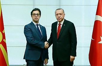 Cumhurbaşkanı Erdoğan ile Kuzey Makedonya Cumhurbaşkanı Pendarovski telefonda görüştü