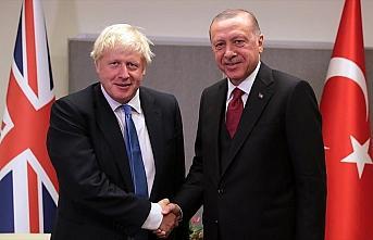 Erdoğan, tıbbi yardım malzemesi ulaştırılan İngiltere Başbakanı Johnson'a mektup gönderdi