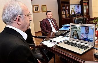 Kılıçdaroğlu, Türk-İş, Hak-İş ve DİSK yöneticileriyle...