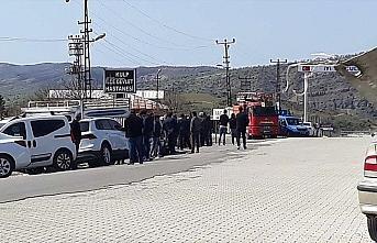 PKK'lı teröristler Kulp'ta yine odun toplamaya giden...