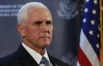 ABD Başkan Yardımcısı Pence kendini karantinaya...