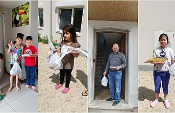 Almanya'da DİTİB camisinden mültecilere bayram...