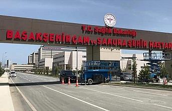 Başakşehir Çam ve Sakura Şehir Hastanesi yarın...