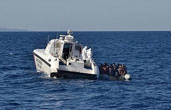Çanakkale'de Yunan sahil güvenliğinin Türk kara...