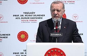 Cumhurbaşkanı Erdoğan: Acil durum hastaneleri ülkemizin...
