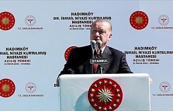 Cumhurbaşkanı Erdoğan: Buram buram tarih kokan ve vatandaşlarımıza şifa vesilesi olacak bir eser ortaya çıktı
