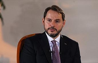Hazine ve Maliye Bakanı Albayrak: Pozitif bir büyüme...