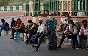 Hindistan'da son 24 saatte 8 bin Kovid-19 vakası...