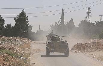 İdlib'de 10'uncu Türk-Rus Birleşik Kara Devriyesi...