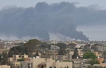 Libya ordusundan Hafter milislerinin işgalindeki...