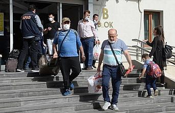 Malatya'da karantina süreci dolan 169 kişi evlerine...