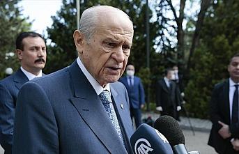 MHP Genel Başkanı Bahçeli: Hüzünlüyüz ama gelecekle ilgili umutluyuz
