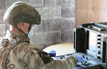 Suriye'deki terör unsurları yerli ve milli radarlarla...