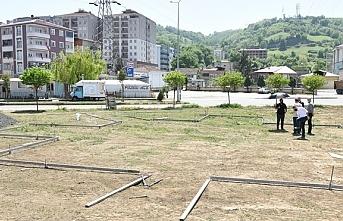 Tekkeköy'de engelsiz park yapılıyor