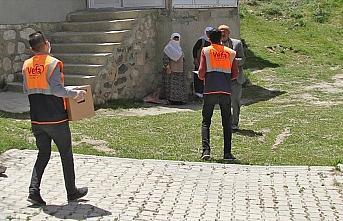 Terör saldırısı 'Vefa' gönüllülerini engelleyemedi