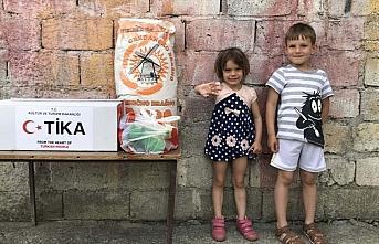 TİKA Karadağ'da Gıda ve Hijyen Destek Programı...