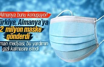 Türkiye, Almanya'ya 2 milyon adet maske gönderdi, Almanya yardımın gizli kalmasını istedi