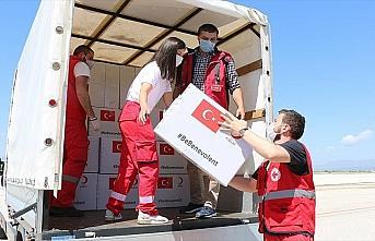 Türkiye'nin tıbbi yardımları Kuzey Makedonya'ya...
