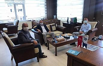 Abana Belediye Başkanı Akgül'e ziyaret