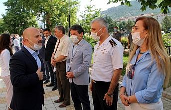 Ağrı Valiliğine atanan Osman Varol Amasya'dan ayrıldı