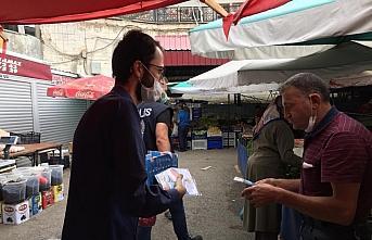 AK Parti Gümüşhane'de vatandaşlara 5 bin maske...