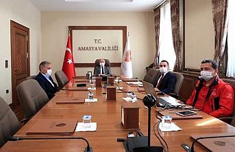 Amasya'da İl Pandemi Koordinasyon Kurulu toplandı