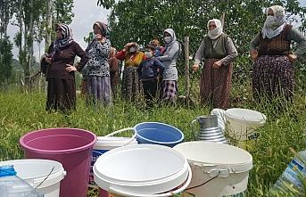 Amasya'da mahalle sakinlerinden