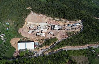 Artvin içme suyu arıtma tesisinde yüzde 50 fiziki...