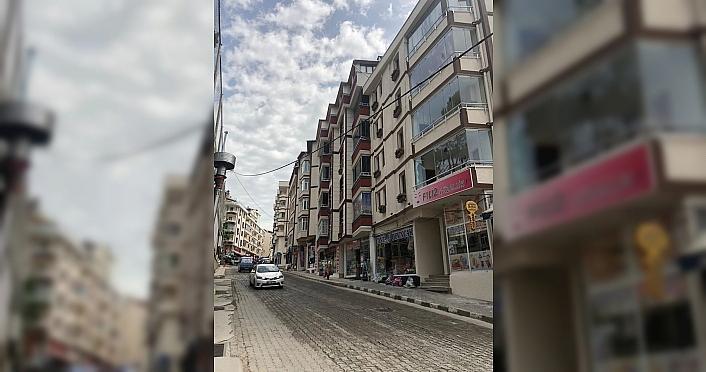 Artvin'de binaların dış cephe boyama işlemi tamamlandı