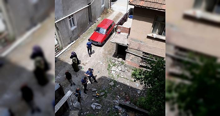 Bafra'da üçüncü kattan düşen çocuk yaralandı