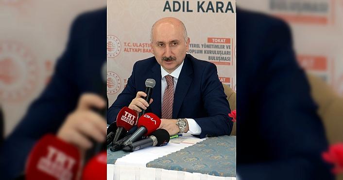 Bakan Karaismailoğlu, Tokat'ta STK temsilcileriyle...