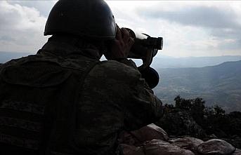 Barış Pınarı bölgesine sızma hazırlığındaki...