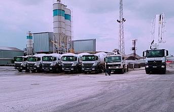 Düzce Belediyesinde beton santrali üretim tesisine...