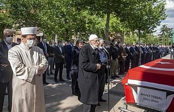 Eski Refah Partisi Genel Başkanı Tekdal son yolculuğuna uğurlandı