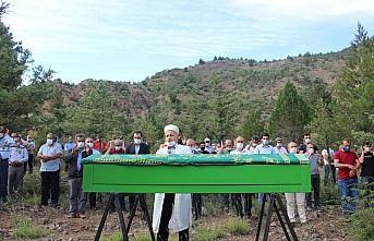 Gazeteci Cevdet Ağduman'ın cenazesi, Yusufeli ilçesinde...