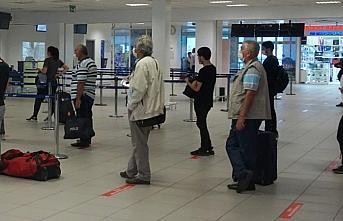 Gazipaşa Alanya Havalimanı'nda tarifeli iç hat...
