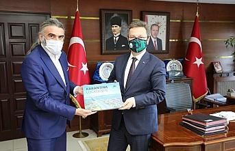 Giresun Valisi Ünlü, AA Trabzon Bölge Müdürü...