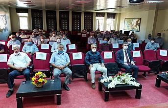 Gümüşhacıköy KHGB Meclis Toplantısı yapıldı