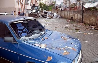 GÜNCELLEME - Amasya'da dolu ve sağanak etkili oldu
