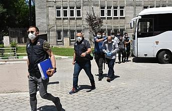 Samsun'da DEAŞ operasyonunda 11 şüphelinin gözaltı süresi uzatıldı