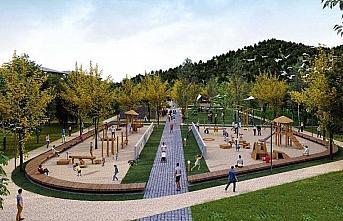 Güneysu Millet Bahçesi Projesi çalışmaları