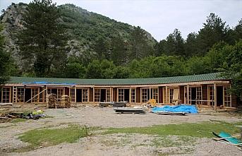 Horma Kanyonu'na yapılan yeni yatırımlar hizmet...