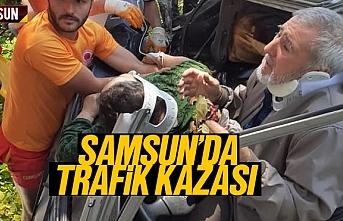 Karadeniz Hayat Güneşi Derneği Başkanı Hayati Çal Kaza Yaptı