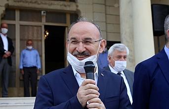 Kastamonu Valisi Yaşar Karadeniz kente veda etti