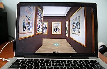 Kastamonu'da geleneksel sanatlar online sergide