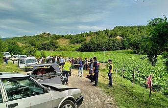 Kastamonu'da iki otomobil çarpıştı: 5 yaralı